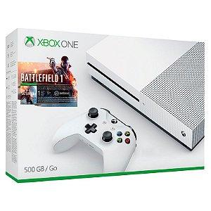 Console Xbox One S 500GB + Battlefield 1 - Microsoft