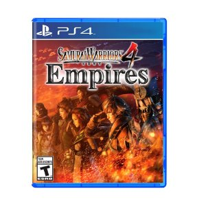 Jogo Samurai Warriors 4: Empires - PS4