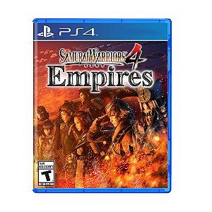 Jogo Samurai Warriors 4: Empires - PS4