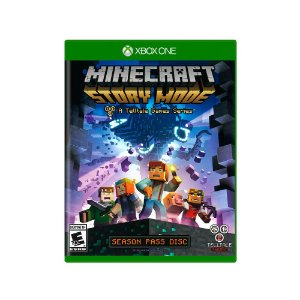 Jogo Minecraft: Story Mode (Season Pass) - Xbox One