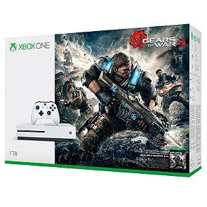Console Xbox One S 1TB + Jogo Gears of War 4 - Microsoft