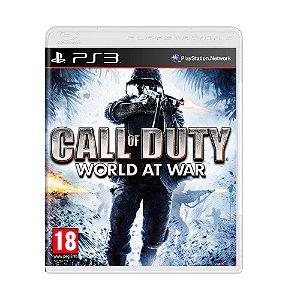 Jogo Call of Duty: World at War - PS3