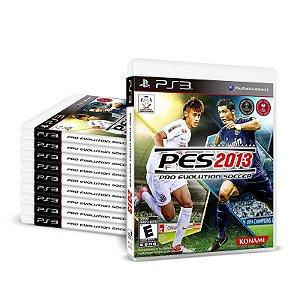 Kit Jogos Pro Evolution Soccer 2013 (PES 13) - (100 Unidades) - PS3