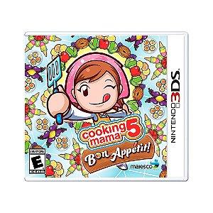 Jogo Cooking Mama 5: Bon Appetit - 3DS