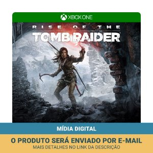 Jogo Rise of the Tomb Raider (Mídia digital) - Xbox One