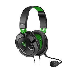 Headset Gamer Turtle Beach Recon 50X Preto com fio - Multiplataforma