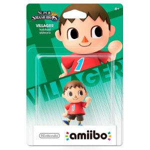 Nintendo Amiibo: Villager - Animal Crossing - Wii U e New Nintendo 3DS