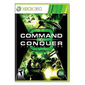 Jogo Command & Conquer: Tiberium Wars - Xbox 360