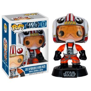 Boneco Luke Skywalker (X-Wing Pilot) 17 Star Wars - Funko Pop