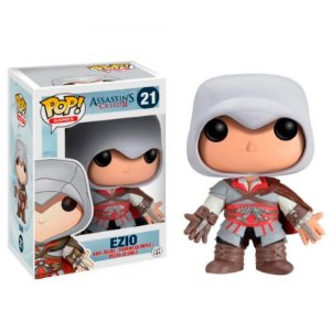 Boneco Ezio 21 Assassins Creed - Funko Pop