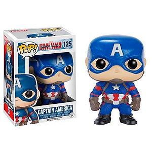 Boneco Captain America 125 Avengers - Funko Pop