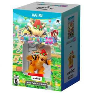 Bundle Mario Party 10 + Amiibo Bowser - Wii U