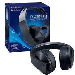 Headset Sony Platinum 7.1 Wireless - PS4