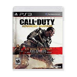 Jogo Call of Duty: Advanced Warfare (Gold Edition) - PS3