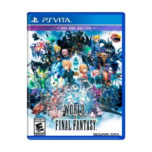 Jogo World of Final Fantasy - PS Vita