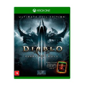 Jogo Diablo III: Reaper of Souls (Ultimate Evil Edition) - Xbox One Nacional