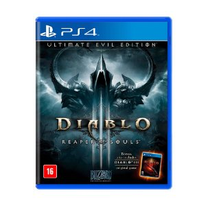 Jogo Diablo III: Reaper of Souls (Ultimate Evil Edition) - PS4 Nacional