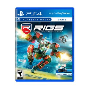 Jogo RIGS: Mechanized Combat League - PS4 VR