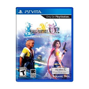 Jogo Final Fantasy X/X-2 HD Remaster - PS Vita