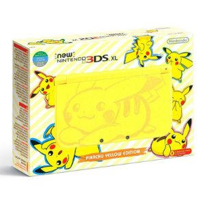 Console New Nintendo 3DS XL (Pikachu Yellow Edition) - Nintendo