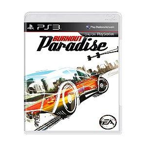 Jogo Burnout Paradise (Capa Dura) - PS3