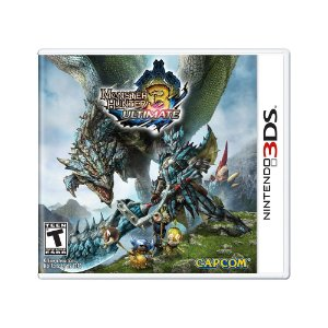 Jogo Monster Hunter 3 Ultimate - 3DS