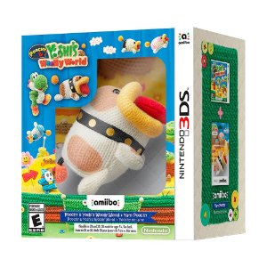 Bundle Poochy & Yoshi's Woolly World + Amiibo Yarn Poochy - 3DS