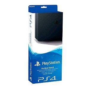 Base Suporte Vertical Preto - PS4 Pro e PS4 Slim