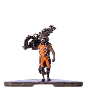 Action Figure Rocket Raccoon (Guardians of the Galaxy) - Iron Studios
