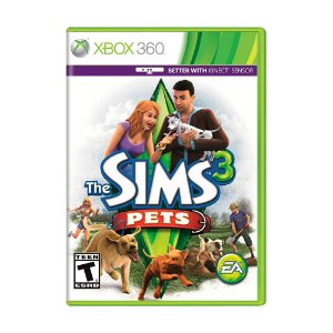 Jogo The Sims 3: Pets - Xbox 360