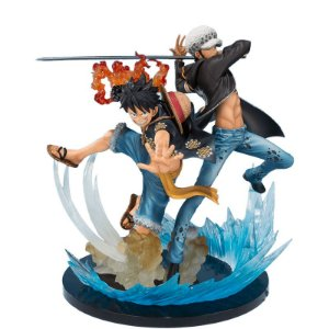Action Figure Monkey D. Luffy & Trafalgar Law (5th Anniversary Edition) - FiguartsZERO
