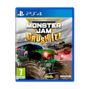 Jogo Monster Jam: Crush It! - PS4