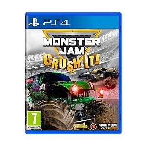 Jogo Monster Jam: Crush It! - PS4