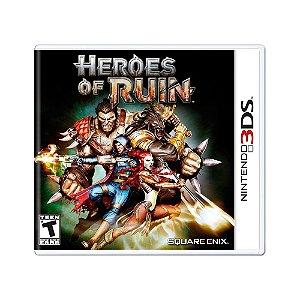 Jogo Heroes of Ruin - 3DS