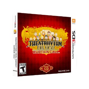 Jogo Theatrhythm Final Fantasy: Curtain Call + Trilha Sonora - 3DS