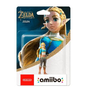Nintendo Amiibo: Zelda - The Legend of Zelda: Breath of the Wild - Wii U e New Nintendo 3DS