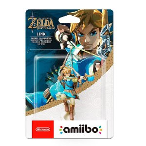 Nintendo Amiibo: Link (Archer) - The Legend of Zelda: Breath of the Wild - Wii U e New Nintendo 3DS
