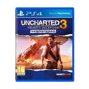 Jogo Uncharted 3: Drake's Deception Remastered - PS4