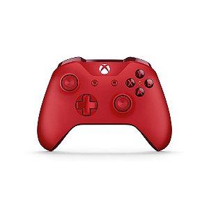 Controle Microsoft Vermelho - Xbox One S