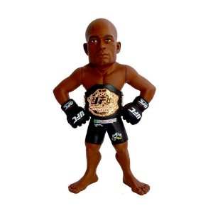 "Action Figure UFC Anderson Silva ""The Spider"" Championship Edition"