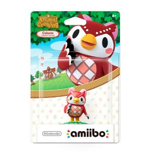 Nintendo Amiibo: Celeste - Animal Crossing - Wii U e New Nintendo 3DS
