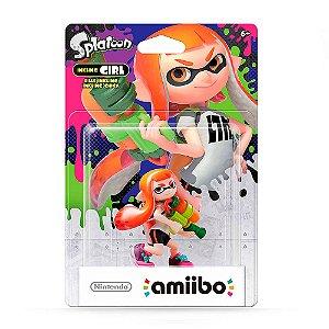 Nintendo Amiibo: Inkling Girl - Splatoon - Wii U e New Nintendo 3DS