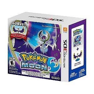 Jogo Pokémon Moon + Lunala Figure - 3DS