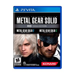 Jogo Metal Gear Solid HD Collection - PS Vita