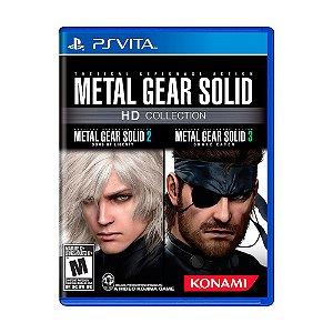 Jogo Metal Gear Solid HD Collection - PS Vita