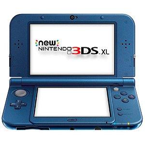Console New Nintendo 3DS XL Azul Metálico - Nintendo