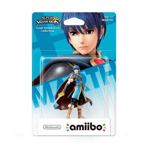Nintendo Amiibo: Marth - Super Smash Bros - Wii U e New Nintendo 3DS