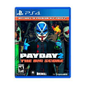 Jogo Payday 2: The Big Score - PS4