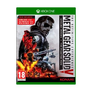 Jogo Metal Gear Solid V The Definitive Experience: Ground Zeroes + The Phantom Pain - Xbox One