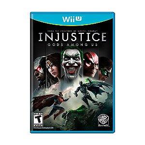 Jogo Injustice: Gods Among Us - Wii U